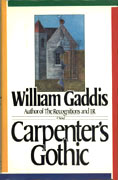 Carpenter's Gothic First Edition US 1985
